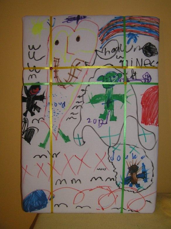 prikbord/bulletin board